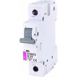Automatski osigurac 1P ETI B 25A 6KA (2111518)